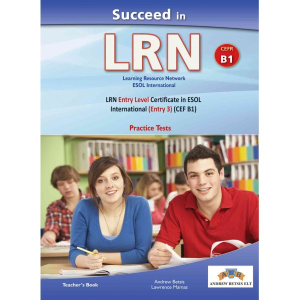 Succeed in LRN- CEFR B1 - Practice Tests  -  Teacher's book