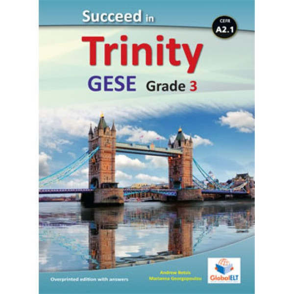 Succeed in Trinity GESE Grade 3 - CEFR Level A2.1 Teacher's Book Overprinted edition