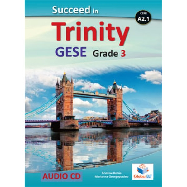 Succeed in Trinity GESE Grade 3 - CEFR Level A2.1 Audio CDs
