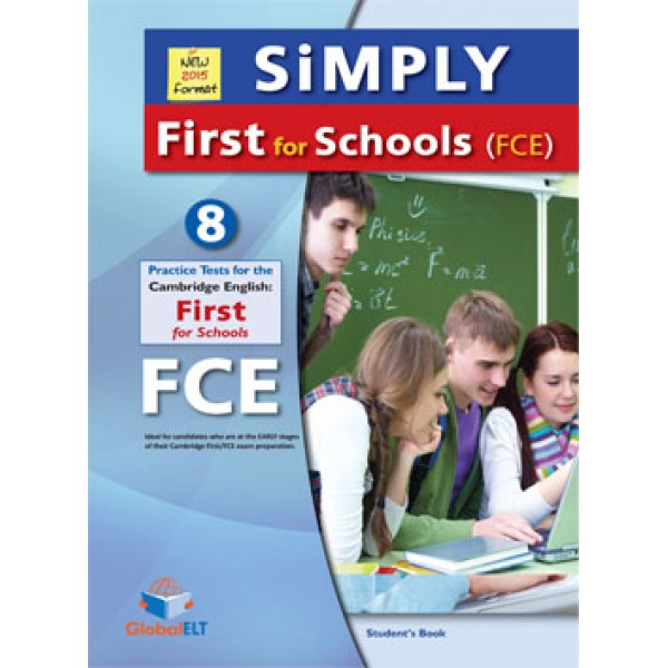 SiMPLY First for SCHOOLS- 8 Practice Tests Student's Book (without answers and CDs)
