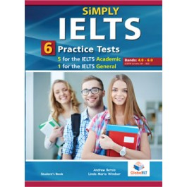 SiMPLY IELTS - 5 IELTS Academic Tests & 1 IELTS General Test Student's Book