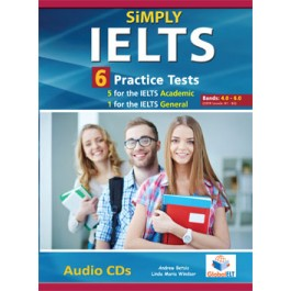 SiMPLY IELTS - 5 IELTS Academic Tests & 1 IELTS General Test Audio CDs