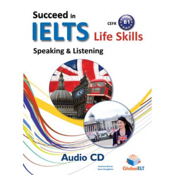 Succeed in IELTS Life Skills - CEFR B1 Audio CD