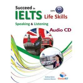 Succeed in IELTS Life Skills - CEFR A1 Audio CD