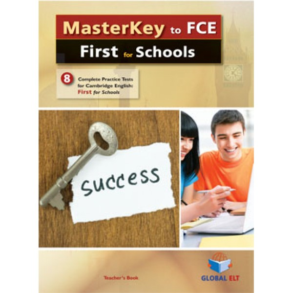 MasterKey First for Schools - 8 Practice Tests Audio CDs