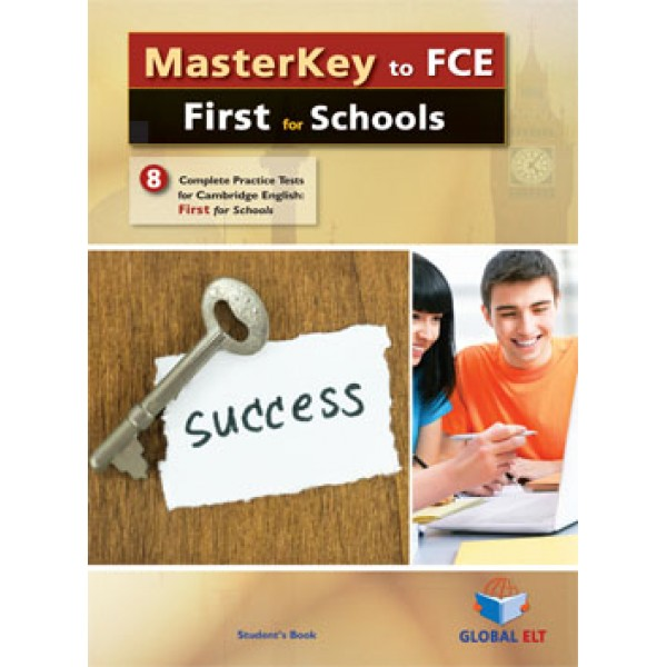 MasterKey First for Schools - 8 Practice Tests Student's Book (without answers and CDs)