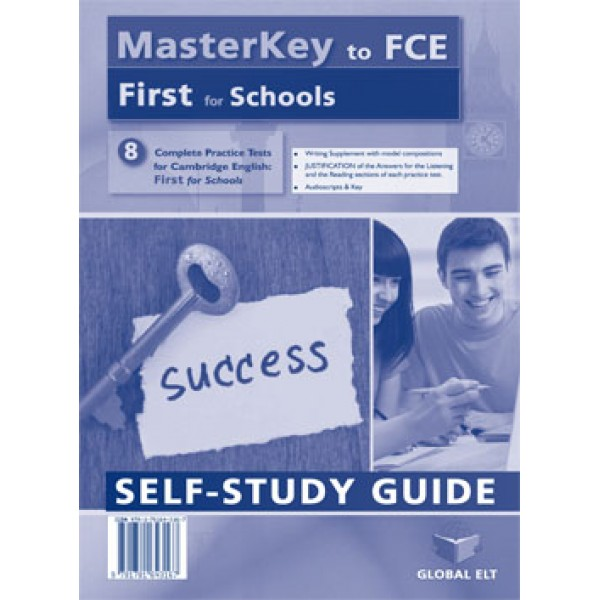 MasterKey First for Schools - 8 Practice Tests Self-Study Edition