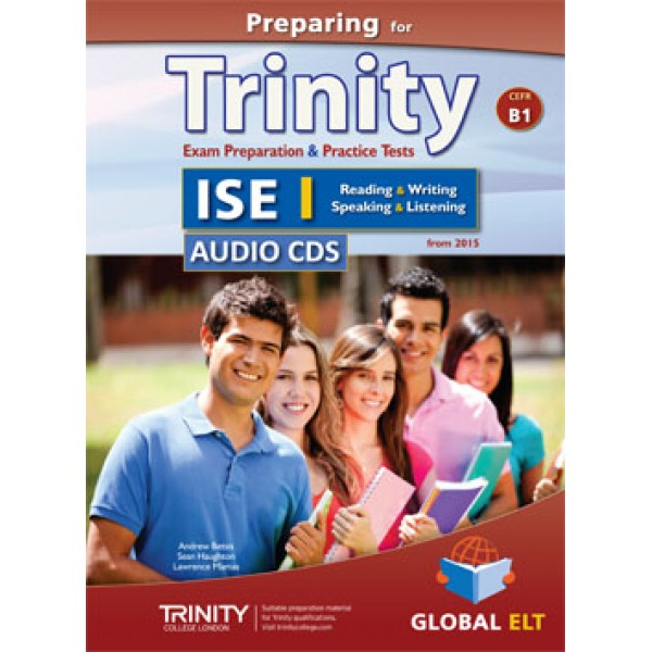 Preparing for Trinity-ISE I - CEFR B1 Audio CDs
