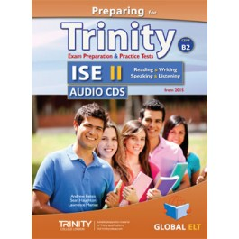 Preparing for Trinity-ISE II - CEFR B2 Audio CDs