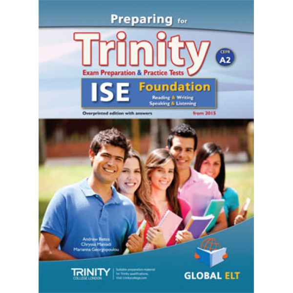 Preparing for Trinity-ISE Foundation - CEFR A2 Teacher's Book Overprinted edition