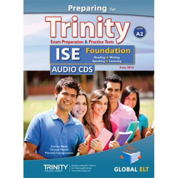Preparing for Trinity-ISE Foundation - CEFR A2 Audio CDs