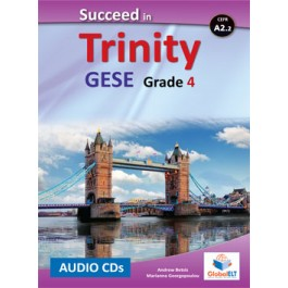 Succeed in Trinity GESE Grade 4 - CEFR Level A2.2 Audio CDs