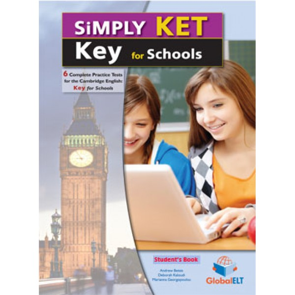 Simply Cambridge English KEY (KET) for Schools - 6 Practice Tests  Audio CDs