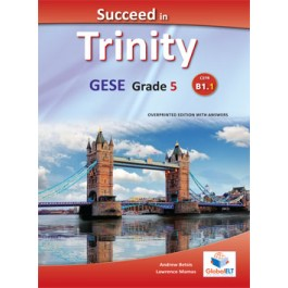 Succeed in Trinity GESE Grade 5 - CEFR Level B1.1 Teacher's Book Overprinted edition