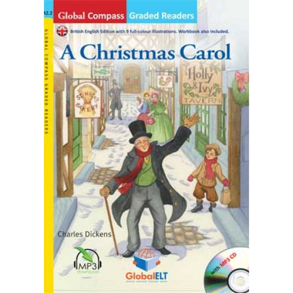 Graded Reader - A Christmas Carol with MP3 CD - Level A2.2