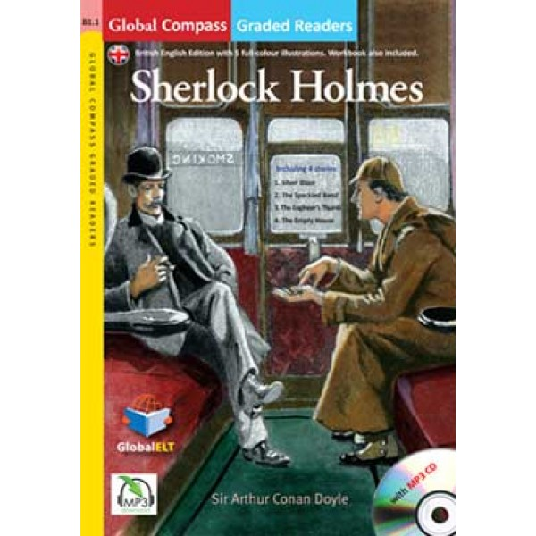 Graded Reader - Sherlock Holmes with MP3 CD - Level B1.1