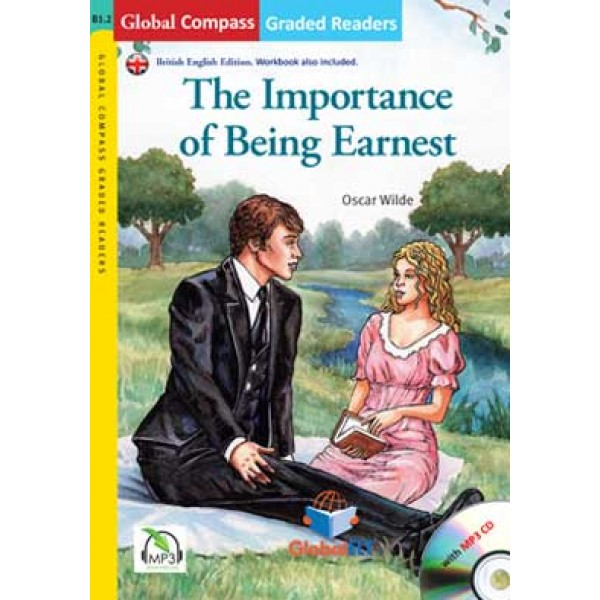 Graded Reader - The Importance of Being Earnest with MP3 CD - Level B1.2