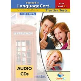 Succeed in LanguageCert Achiever CEFR Level B1 Audio CDs
