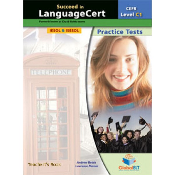 Succeed in LanguageCert Expert CEFR Level C1 Audio CDs