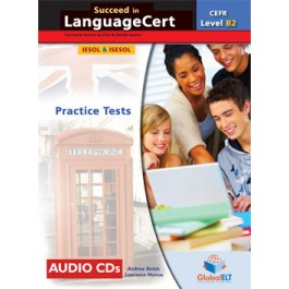 Succeed in LanguageCert Communicator CEFR Level B2  Audio CDs