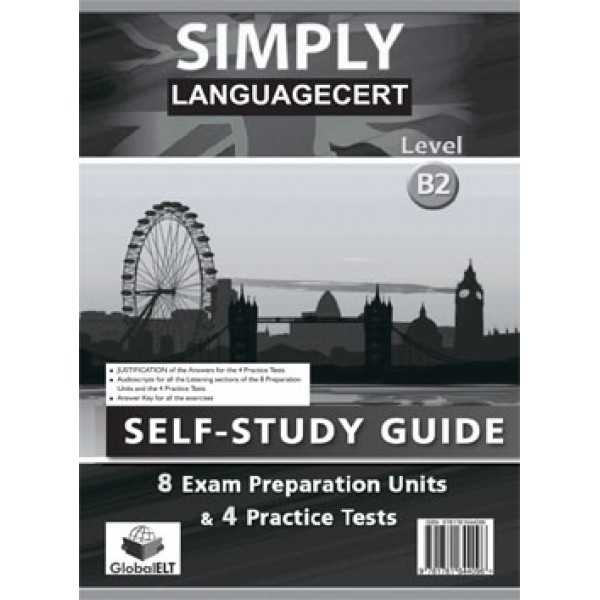 Simply LanguageCert Communicator CEFR Level B2 Self-Study Edition