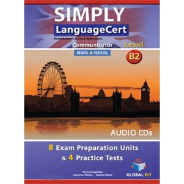 Simply LanguageCert Communicator CEFR Level B2 Audio CDs