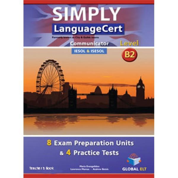 Simply LanguageCert Communicator CEFR Level B2 Teacher's Book