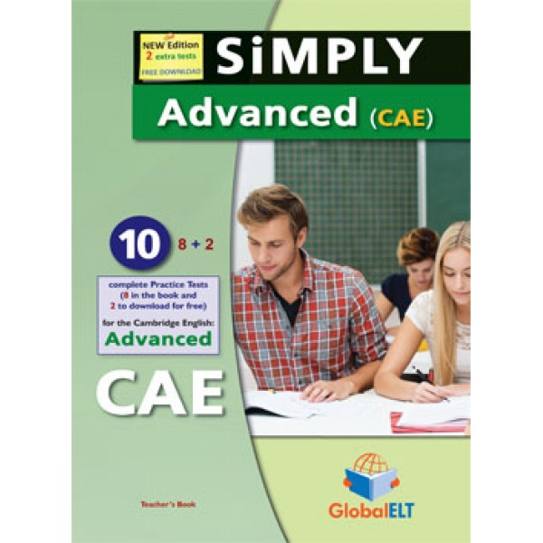SiMPLY Cambridge Advanced - CAE - 2015 Format 10 Practice Tests Audio CDs