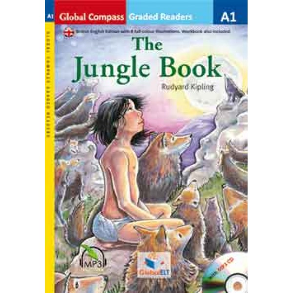 Graded Reader - The Jungle Book with MP3 CD - Level A1