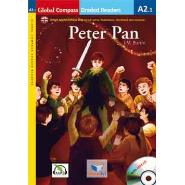 Graded Reader - Peter Pan with MP3 CD - Level A2.1