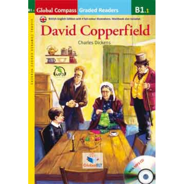 Graded Reader - David Copperfield with MP3 CD - Level B1.1