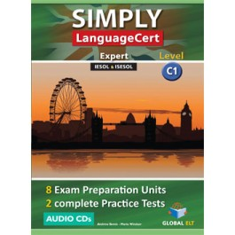 Simply LanguageCert Expert CEFR Level C1 Audio CDs