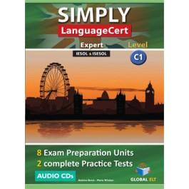 Simply LanguageCert Expert CEFR Level C1 Audio CDs