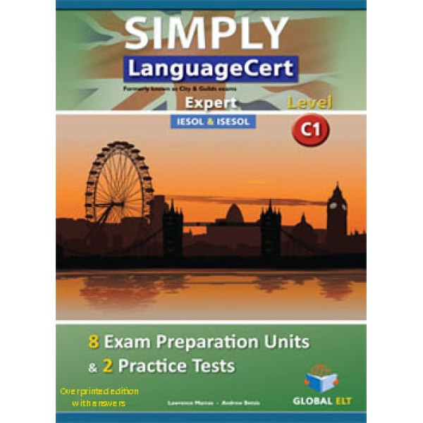 Simply LanguageCert Expert CEFR Level C1 Teacher's Book