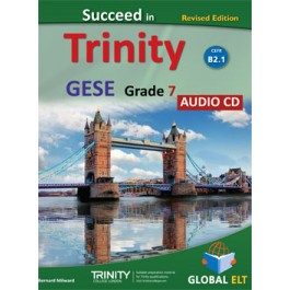 Succeed in Trinity GESE Grade 7 - CEFR Level B1.2 Audio CD