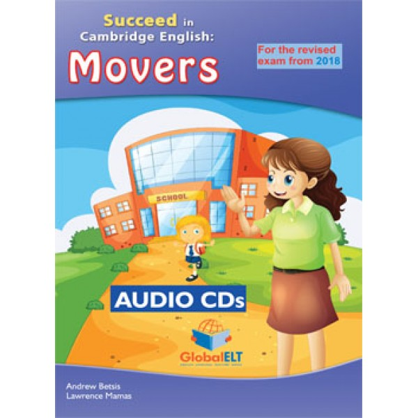 Cambridge YLE - Succeed in MOVERS -2018 Format - 8 Practice Tests - Audio CDs