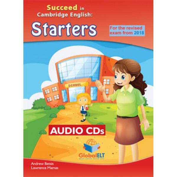 Cambridge YLE - Succeed in STARTERS - 2018 Format - 8 Practice Tests - Audio CD