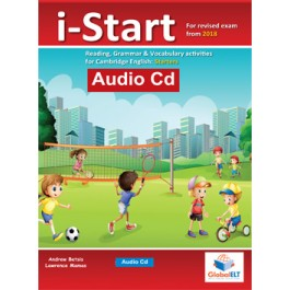 Cambridge YLE - i-START - 2018 Format - Audio CD