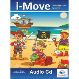 Cambridge YLE -  i-MOVE - 2018 Format - Audio CD