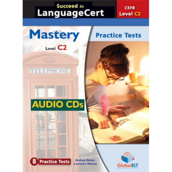 Succeed in LanguageCert Mastery CEFR Level C2 Audio CDs