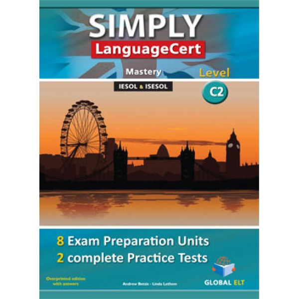 Simply LanguageCert Mastery CEFR Level C2 Audio CDs
