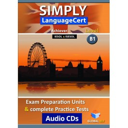 Simply LanguageCert Achiever CEFR Level B1 Audio CDs