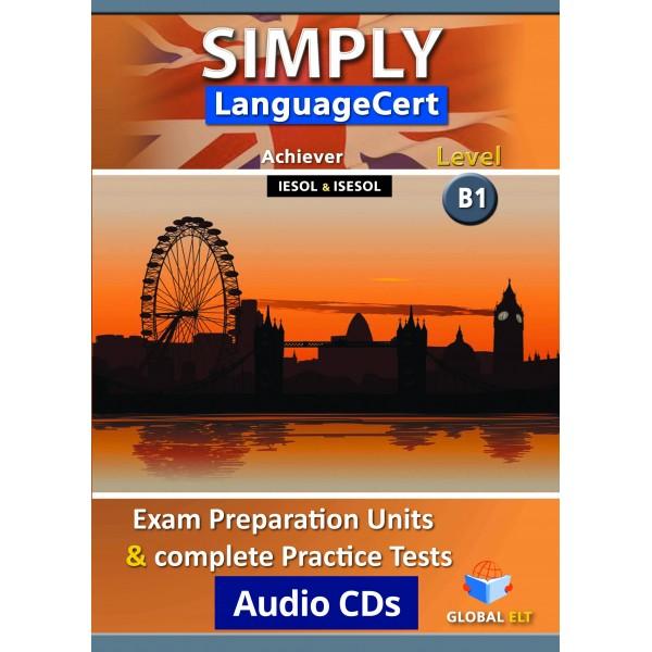 Simply LanguageCert Achiever CEFR Level B1 Audio CDs