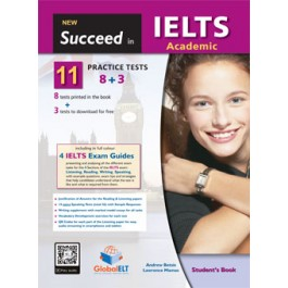 Succeed in IELTS Academic - 11 (8+3) Practice Tests Student's Book