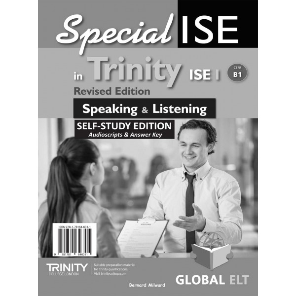 Specialise in Trinity ISE I - CEFR B1 - Speaking & Listening - Revised Edition - Self-study Edition