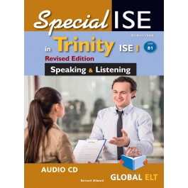 Specialise in Trinity ISE I - CEFR B1 - Revised Edition - Speaking & Listening - Audio CDs