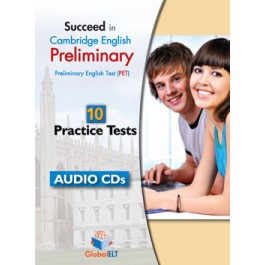 Succeed in Cambridge English Preliminary (PET) - 12 Practice Tests Tests  Audio CDs