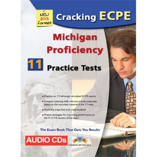 Cracking the Michigan (CAMLA) ECPE - 11 Practice Tests Audio CDs