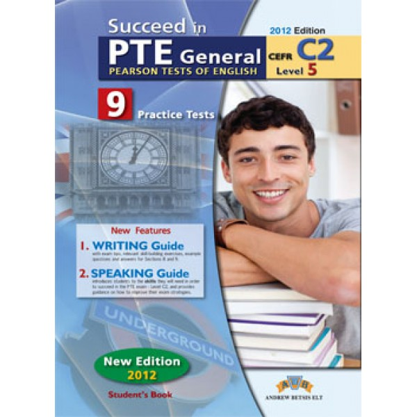 Succeed in PTE Level C2  9 Complete Practice Tests Student's Book