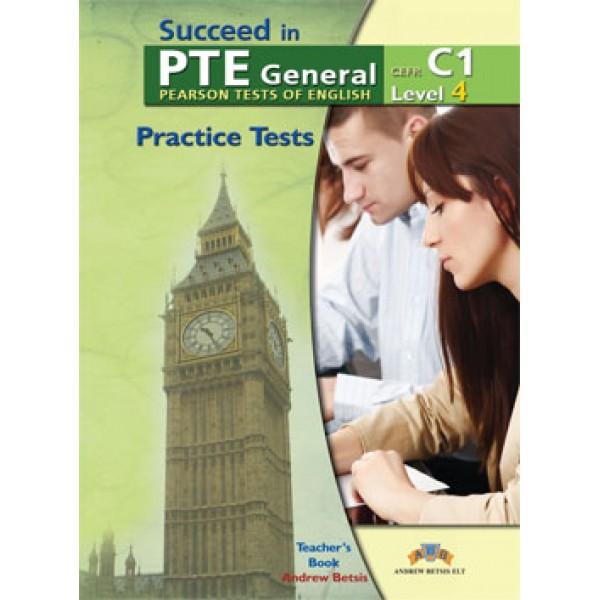 Succeed in PTE Level 4 C1  5 Complete Practice Tests Teacher's Book